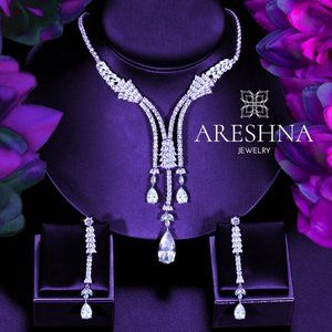 Empress Swarovski Crystals Bridal Jewelry Set